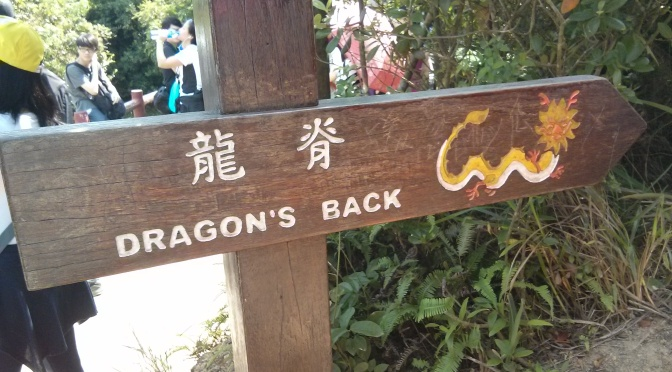 Hiking di Dragon's Back Trail, Hongkong
