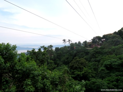 How far the Zip Lining would take