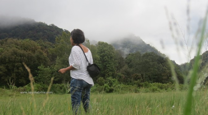 A weekend getaway: Camping at Ranca Upas and a visit to White Crater in Bandung